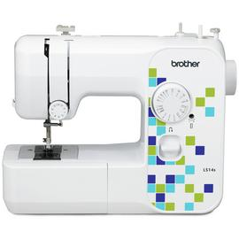 Brother LS14s Manual Stitch Sewing Machine - White