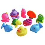 more details on Chad Valley Sea Friends Bath Squirters - 10 Pack.