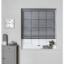 Argos Home PVC Venetian Blind - Flint Grey