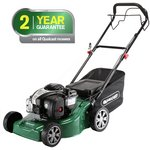 more details on Qualcast 41cm Wide Self-Propelled Petrol Lawnmower - 125Cc.
