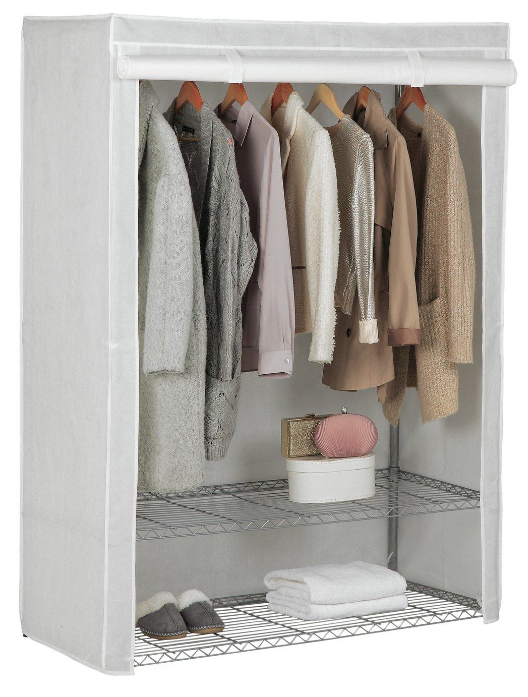 Argos Home Double Heavy Duty Wardrobe   White