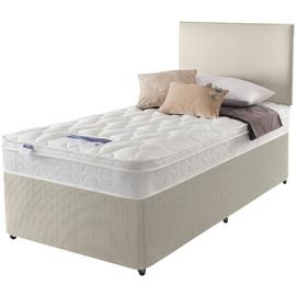 Silentnight Auckland Natural Divan Bed - Single.
