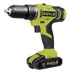 Guild 1.5AH Li-Ion Cordless Hammer Drill - 18V.