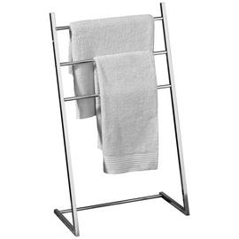 Premier Housewares 3 Arm Freestanding Towel Stand - Chrome