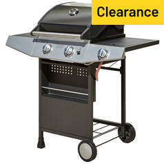 Premium 2 Burner Gas BBQ with Side Burner