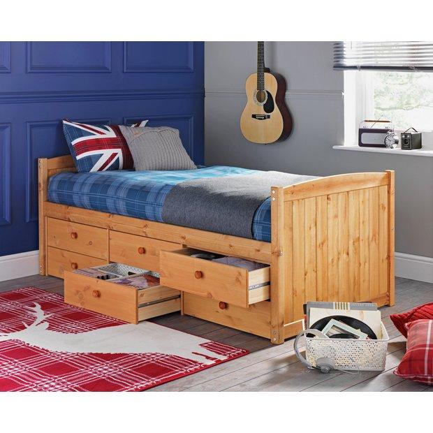 Buy Collection Lennox 6 Drawer Cabin Bed &Elliott Mattress ...