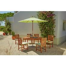 Collection Madison 6 Seater Wooden Patio Set