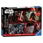 more details on Star Wars Episode VII 4 x 100 Piece Bumper Puzzle.