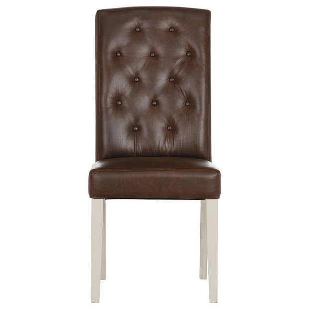 Buy schreiber ashington pair of beech leather dining for Furniture 4 u ashington