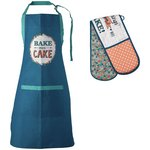 more details on Premier Housewares Pretty Things Apron and Oven Glove Set.