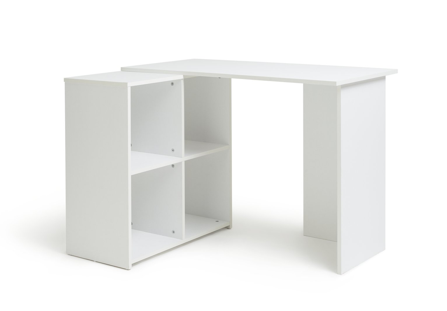 Argos Home Calgary Corner Office Desk   White