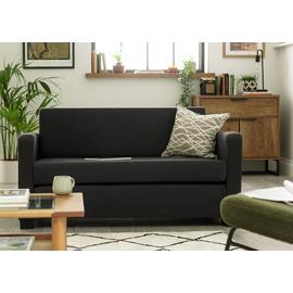 Argos Home Lucy 2 Seater Fabric Sofa Bed - Grey