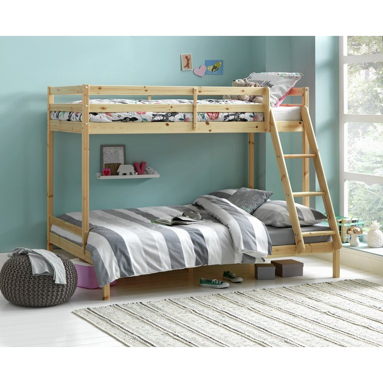 Buy Home Kaycie Triple Bunk Bed With Ashley Mattress