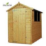 Mercia Shiplap Apex Wooden Garden Shed - 6 x 4ft.
