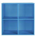 more details on HOME Phoenix 2x2 Cube Storage Unit - Blue.