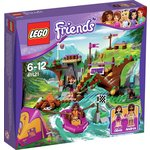 more details on LEGO Friends Adventure Camp Rafting Playset - 41121.