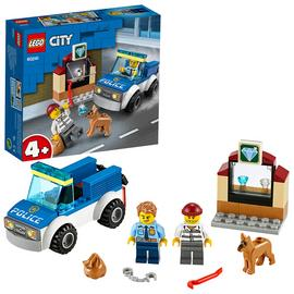 LEGO City Police Dog Unit Building Set - 60241