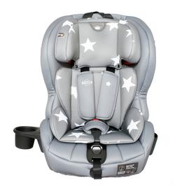 My Babiie Group 1/2/3 Car Seat - Grey Stars