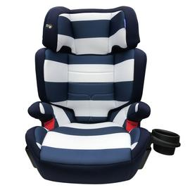 My Babiie Group 2/3 Car Seat - Blue Stripe
