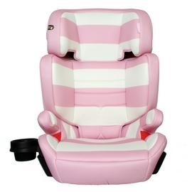 My Babiie Group 2/3 Car Seat - Pink Stripe