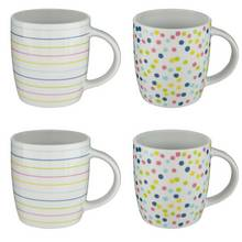 Argos Home Brights Set of 4 Mugs