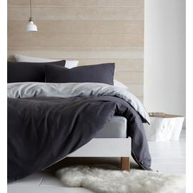 Catherine Lansfield Grey So Soft Fleece Bedding Set - Single