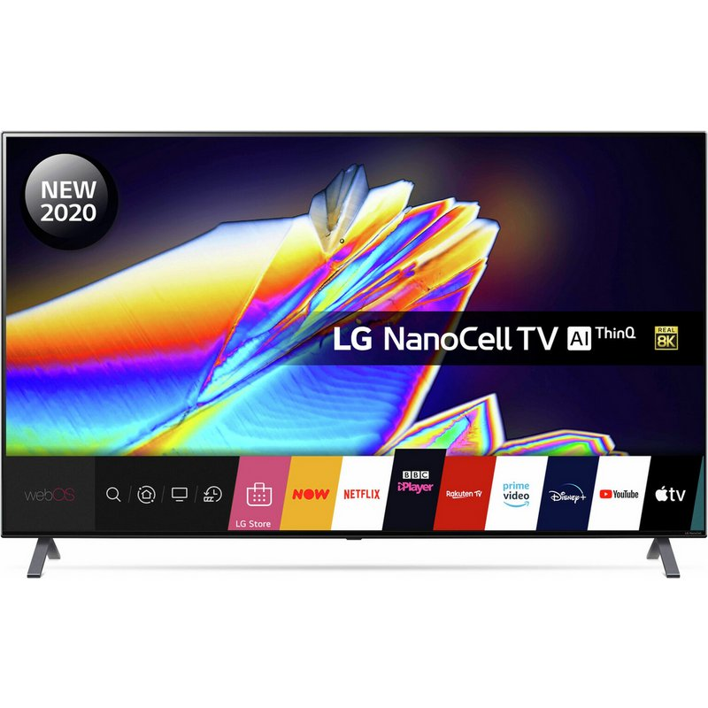 LG 65 In NANO956NA 8K Smart UHD Nanocell HDR Freeview TV from Argos