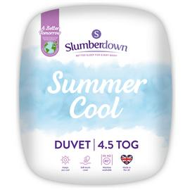 Slumberdown Summer Cool 4.5 Tog Duvet - Superking