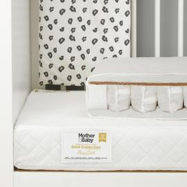 Mother&Baby PureGold AntiAllergy Coir Pocket Cotbed Mattress