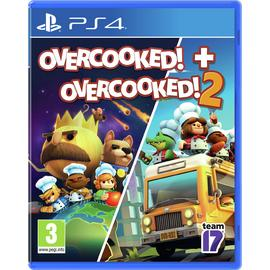 Overcooked! & Overcooked! 2 PS4 Game Double Pack