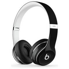 Beats by Dre Solo 2 On-Ear Headphones Luxe Edition - Black