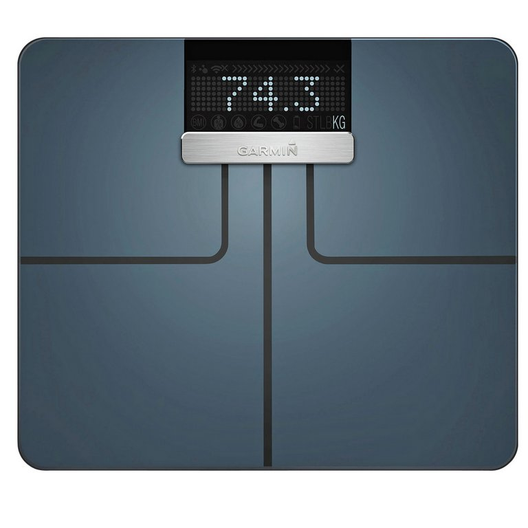 buy garmin index wi-fi smart body weight analysis scale - black ...