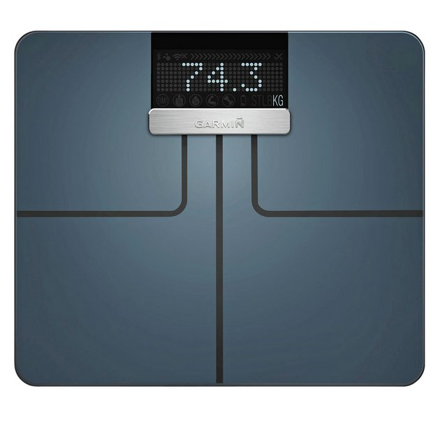 buy garmin index wi-fi smart body weight analysis scale - black ...