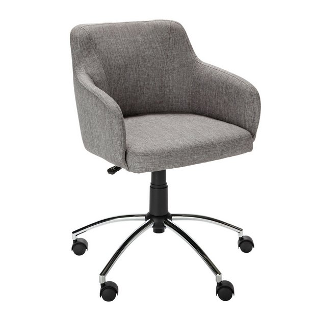 Buy hygena sasha height adjustable office chair grey at your online shop for Argos home office furniture uk