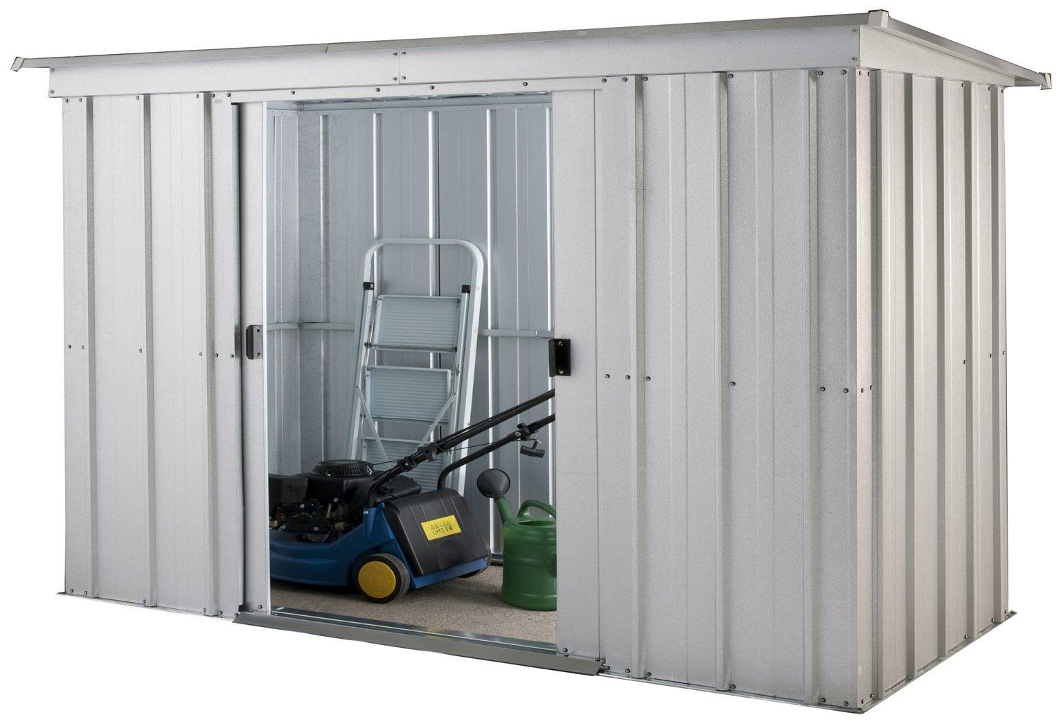 sc 1 st  Argos & Buy Yardmaster Pent Metal Garden Storage Unit - 6 x 4ft | Sheds | Argos