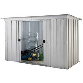 Yardmaster Pent Metal Garden Storage Unit - 6 x 4ft