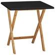 more details on Habitat Drew 2 Seater Folding Dining Table - Black.