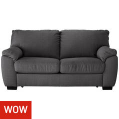 Argos Home Milano 2 Seater Fabric Sofa Bed - Charcoal