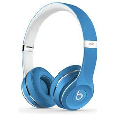Beats by Dre Solo 2 On-Ear Headphones Luxe Edition - Blue