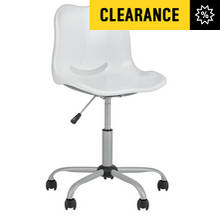 HOME Delta Height Adjustable Office Chair - White