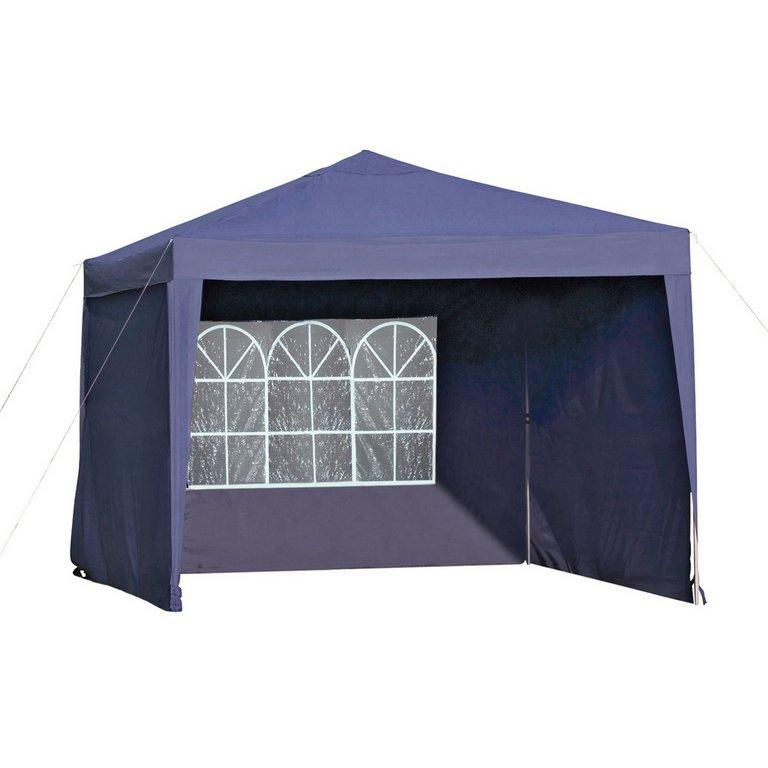 Buy HOME Waterproof 3x3m Blue Pop-Up Garden Gazebo & Side Panels at Argos.co.uk - Your Online ...