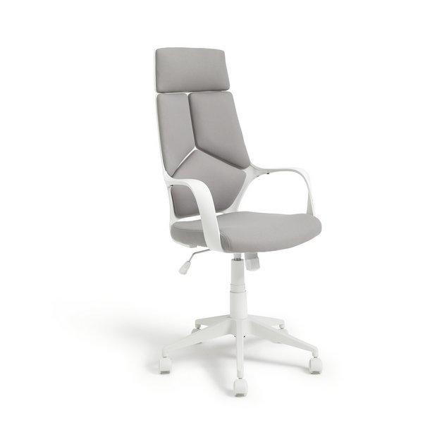 Buy Habitat Alma High Back Ergonomic Office Chair Grey Office Chairs Argos