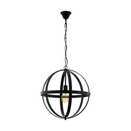 Eglo Barnaby Pendant Light - Black