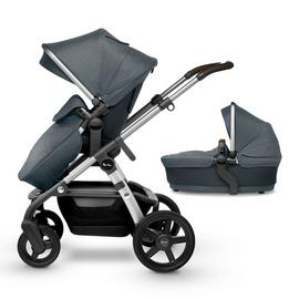Silver Cross Wave Pram - Slate