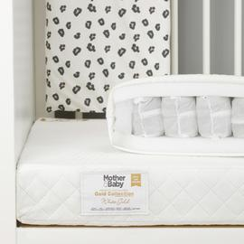 Mother&Baby WhiteGold AntiAllergy Pocket Cotbed Mattress