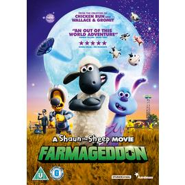 A Shaun the Sheep Movie: Farmageddon DVD