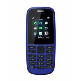 SIM Free Nokia 105 Mobile Phone - Blue