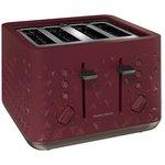 Morphy Richards 248103 Prism Four-Slice Toaster - Merlot