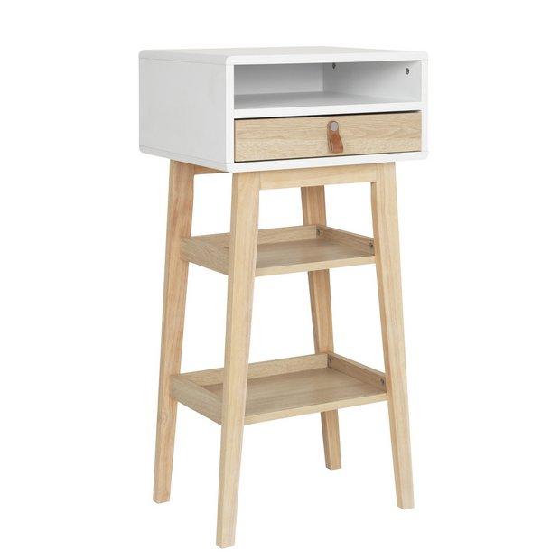 Argos Home Copenhagen 1 Drawer Standing Desk - Two Tone