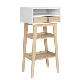 Argos Home Copenhagen 1 Drawer Standing Desk - Two Tone
